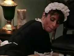 Old-school Heather Lee As A Maid