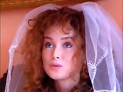 Hot ginger bride fucks an Indian honey with her spouse