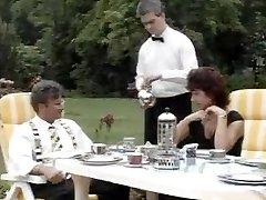 Great looking sluts crammed in vintage video