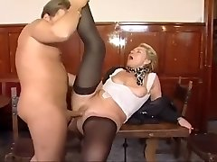 Old lady hires another boy plaything