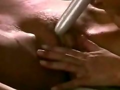 Erotic lezzies massage and eat each other