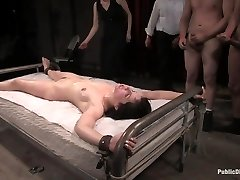 Old-school Archive Shoot: Member Beloved Bobbi Starr Disgraced In The Armory - PublicDisgrace