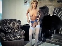 Barbie girl - little college girl tights strip dance