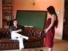 Horny first-timer Vintage, BDSM porn scene