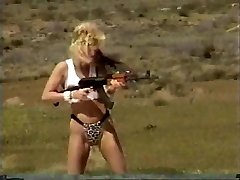 Femmes Shooting Machineguns 1