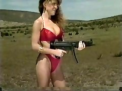 Femmes Shooting Machineguns 1