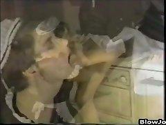 maid throating