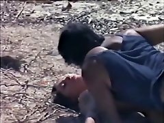 Hottest first-timer Black and Black, Outdoor adult movie