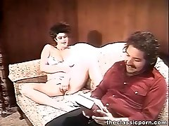 Kinky couple cosy sofa nailing