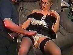 UK amateur Kelly as a maid