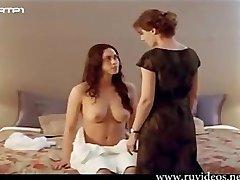 Duas Mulheres bang-out scen