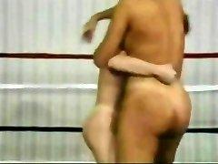 Retro Nude Wrestling