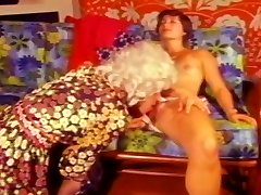 Dude In Wig Inhaled By Cute Brunette Wifey