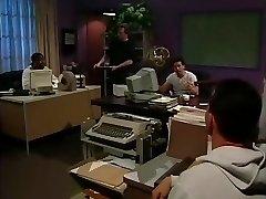 Wondrous  pornstar in finest vintage, office sex scene