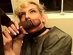 Mature Platinum-blonde Creamed In Her Cock-squeezing Butt