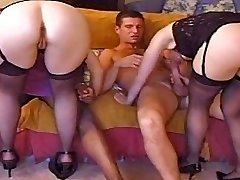 Double penetration chicks compilation