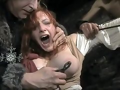 Stunning amateur Redhead, Vintage xxx video