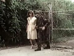 Crazy homemade BDSM, Military sex movie