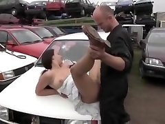 Incredible Innate Tits, Outdoor sex scene