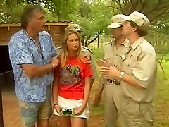 Platinum-blonde Kruger Park