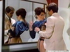 Busty Janey Robbins being boinked in bathroom
