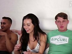 Dudes Penetrates Wonderful Culo girl and Cums TWICE! Once way to EARLY!
