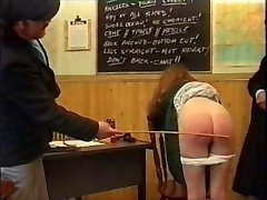 CMNF - Spanking Pauline - Vintage Humiliating Sadism & Masochism scenes