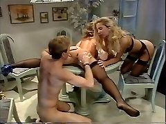 Retro supersluts and their men in a classic orgy porn movie