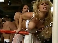 Tiffany Million - Nymph Gangbanged in Boxing