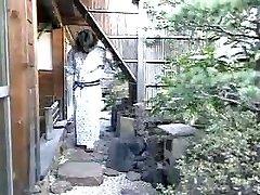 Japanese kimono nymphs