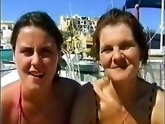 British Extreme - Mummy & Daughter in Spain
