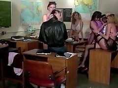 XXXJox Lauren Brice  Mai Lin Deep Hatch In Classroom