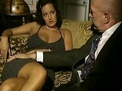 Vintage porn video with 3some sex