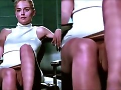 Sharon Stone Upskirt