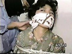 Sexy vintage BDSM fisting movie of a male gimp