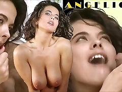 FINISH CUMPILATION BLOWJOB - Angelica licks penis till Cum Mouth - Classic BEST Blowage COMPILATION