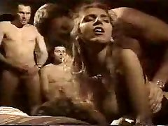 French Retro Gangbang in Motel Guest Room by TROC