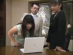 Hottest Chinese model Minami Aoyama, Urara Haru, Sara Ogawa in Exotic Antique JAV clamp