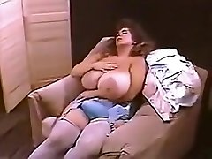 Incredible amateur Big Tits, Vintage romp scene