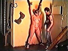 Amazing amateur Dildos/Toys, Vintage porn scene