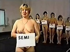 Retro Moms Nude Catfight Competition