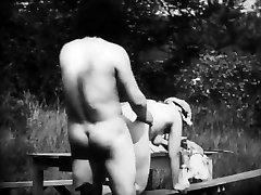 Vintage Erotic Flick 8 - Mousquetaire au Restaurant 1910