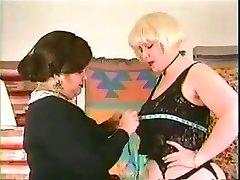 Old-school bbw lesbians