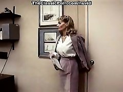 Lee Caroll, Sharon Kane in fur covered poon eaten and