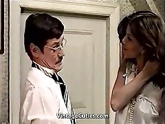 Ultra-cute Latina Maid and Her Filthy Chief (1970s Vintage)