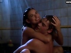 Demi Moore - Teenie Braless Sex in the Shower + Sexy Scenes - About Last Nigh