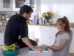 Father fucks her young step-daughter