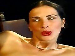 Anal Invasion... Sexy Slender Italian Babe Wambammed On Stage... Vintage
