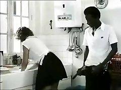 Exotic amateur Retro, Interracial porn clip