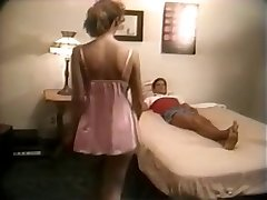 Home hardcore of busty retro wifey